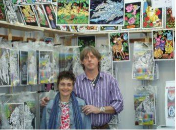 Martin en Tineke Atelier Texel