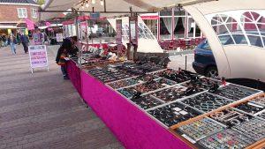 markt op Texel