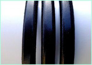 Leder Farbe schwarz - atelier texel