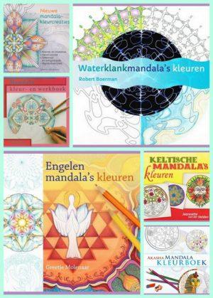Malbucher Mega viele Mandalas