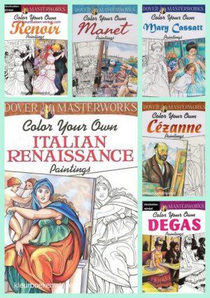 kleurboeken schilderijen
